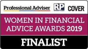 Women in Financial Advice Award Winner 2019