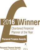 Personal Finance Awards Winner