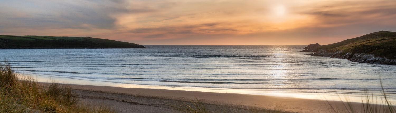 Once I've Gone - Cornish Beach at Sunset